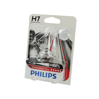 Genuine PHILIPS Motorcycle Xtreme Vision Headlight Bulb H7 12V 55W Single Globe