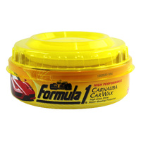 Formula 1 Carnauba Wax Paste 230G - Give Your Car Paint a Mirror Like Shine!
