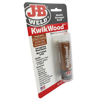 JB Weld KwikWood Wood Repair Epoxy Putty Stick 8257 J-B Weld Kwik Wood