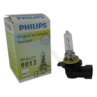 Genuine PHILIPS Eco Vision 9012 HIR2 12V 55w PX22D Bulb - Single Bulb