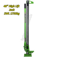 "Lunds Green High Lift Farm Wallaby Jack 48"" SWL 1750kg 4WD 4X4 Offroad Recovery"