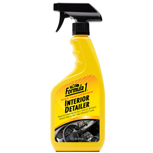 Formula 1 Interior Detailer - Thoroughly Cleans ALL Interior Surfaces 473ml      #615333